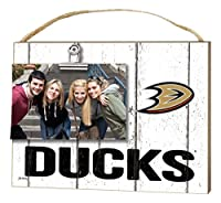 "KH Sports Fan 10"" x 8"" Anaheim Ducks Clip It Weathered Logo NHL Photo Frame"