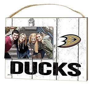 "KH Sports Fan 10"" x 8"" Anaheim Ducks Clip It Weathered Logo NHL Photo Frame"