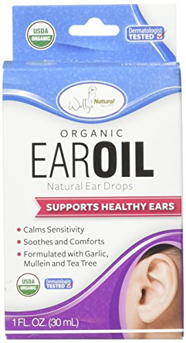 Wally's Natural Products Organic Ear Oil, 1 Fl. Oz (Best Medication For Tinnitus)