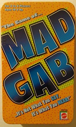 Mad Gab (In a Tin) H0739 (Mad Gab Game)