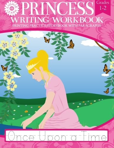Princess Writing Workbook Printing Practice Storybook with Paragraphs pdf epub