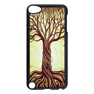 WJHSSB Customized Print Tree of Life Pattern Hard Case for iPod Touch 5