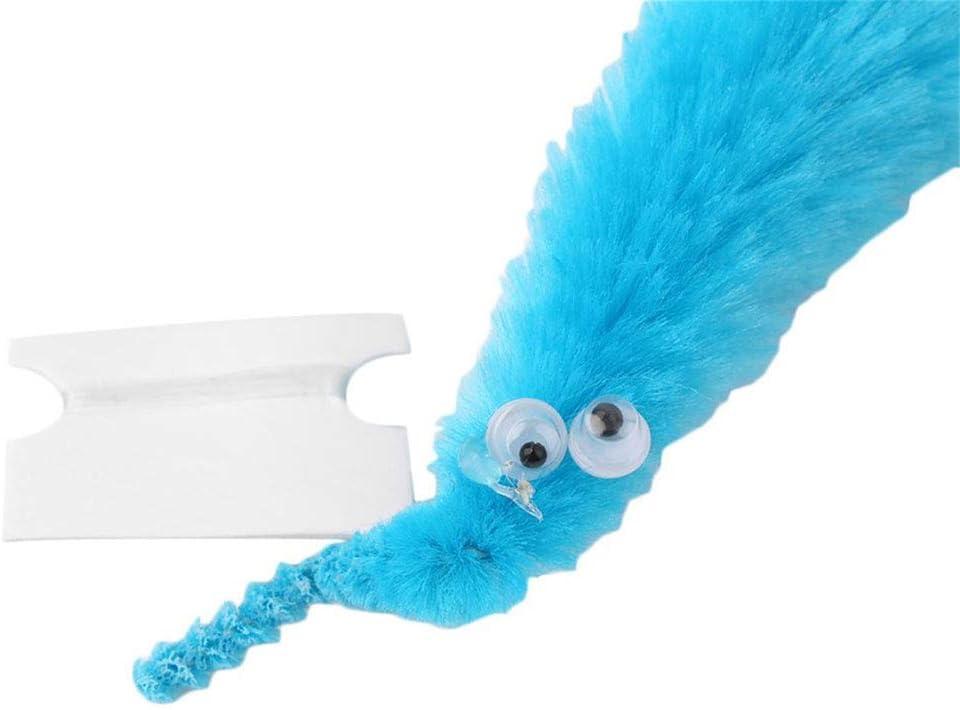 wufeng Magie Pl/üsch Twisty Wurm Wiggle bewegen Worm Wiggle Sea Horse Caterpillar Shaped Kinder Spielzeug Trick