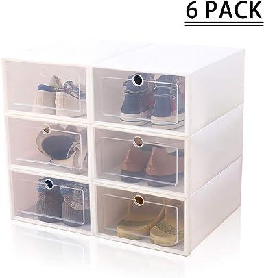 kabinga Plegable-6 Paquetes, Almacenamiento, Caja de Zapatos de ...