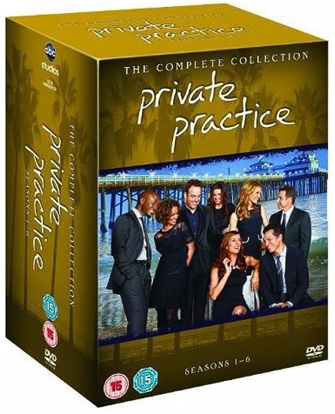 Private Practice Season 1-6 [Reino Unido] [DVD]: Amazon.es: Cine y Series TV