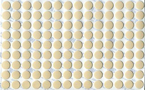 ReviewMeta PASS KwikCapsR PVC Magnolie Selbstklebende 3M Schrauben Abdeckungen Abdeckkappen Ngel Cam Flach 126 Stk X 13 Mm Durchmesser Amazon