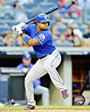 "Elvis Andrus Texas Rangers 2015 MLB Action Photo (Size: 8"" x 10"")"