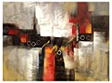 BD - Import Art Canvas Oil Painting Art, Hand Painted Abstract No.3