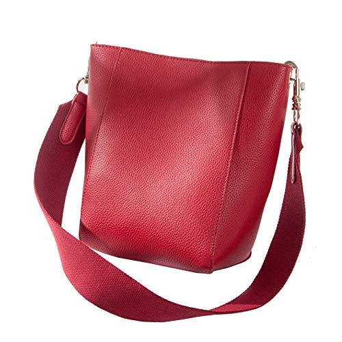 A Libero Tracolla Elegante Pochette Donna funzionale Pochette Red Borsa Donna Da Fashion Borsa Tasca Secchiello Multi Tracolla Clutch Da Tracolla Wild Ampia Per Il Tempo OqRnw7EpxE