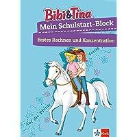 Bibi & Tina Mein großer Schulstart-Block mit Bibi und Tina: Erstes Rechnen, Konzentration, ab 5 Jahren (Lernen mit Bibi und Tina)