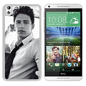 Fashionable Custom Designed Cover Case For HTC Desire 816 With James Franco White Phone Case