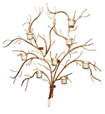 Large 37'' Gold Branch Wall Candle Holder | Tree Votive Candleabra