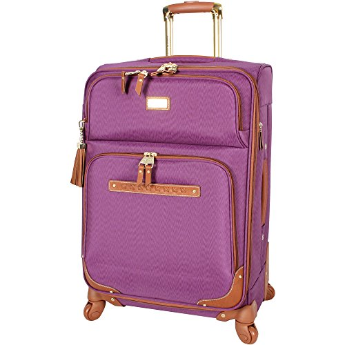 Steve Madden 4 piece Luggage With Spinner Wheels (Purple)
