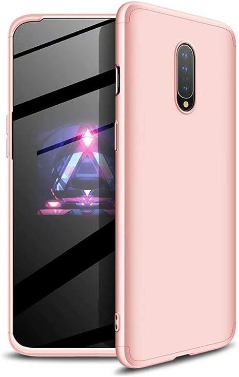 Ttimao Compatible con Funda Oneplus 6 PC Hard Case [Protector de ...