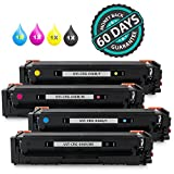 CRG-046H Toner Set Replacement for Canon 046 046H Toner Cartridge fits for Canon Color imageCLASS MF733Cdw, MF731Cdw, MF735Cdw, LBP654Cdw Printer by UniVirgin ( High Yield 4 Packs, KCMY )