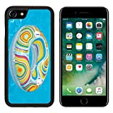 Luxlady Premium Apple iPhone 7 Aluminum Backplate Bumper Snap Case iPhone7 IMAGE ID 20989604 Colorful inflatable ball and round tube floating in swimming pool