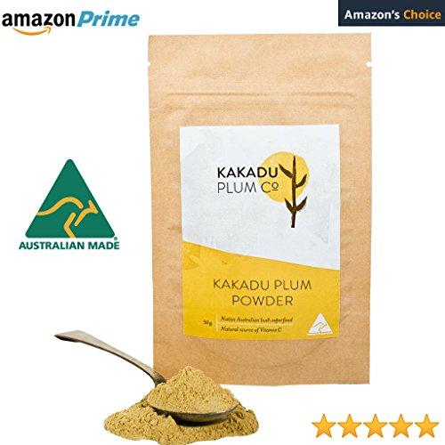 Natures Highest Vitamin C Super Food - Wild Harvested Australian Native Kakadu Plum Powder