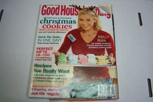 Good Housekeeping December 2006 Fabulous And Foolproof Christmas Cookies Kelly Ripa  Glamour