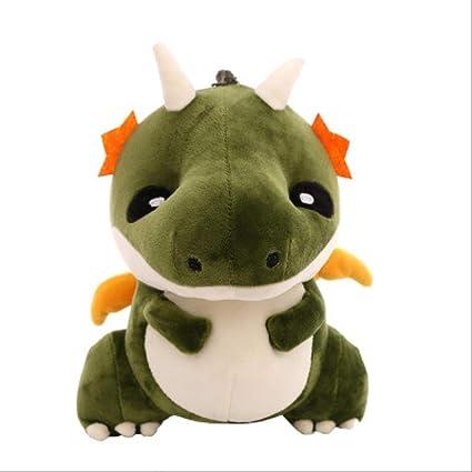 AMTSKR Verde Lindo Dragón Juguetes De Felpa, Juguetes ...