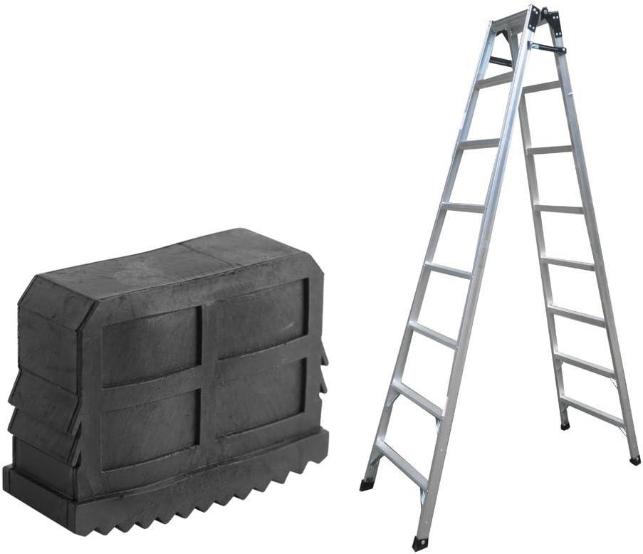 Alfombrilla Antideslizante Pies de Escalera de Goma Reemplazo de Parachoques de Seguridad: Amazon.es: Bricolaje y herramientas