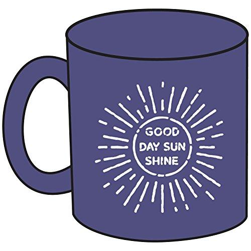 Life is good Jake's Good Morning Sun Mug, One Size, Blue (Lig Cotton Jake)