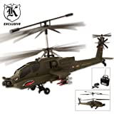 3-Channel Gyro Apache Helicopter, Outdoor Stuffs