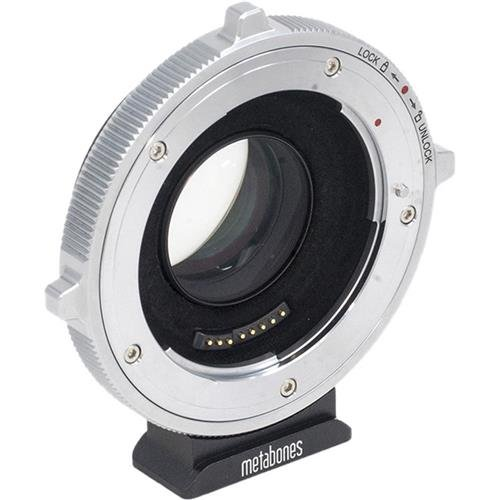 Metabones Canon EFレンズto Micro Four Thirdsカメラアダプタ、T Cine Speed Booster ULTRA 0.71 X倍率(第5世代)   B079KTS2NY
