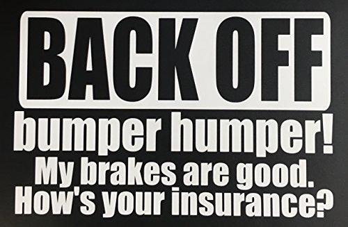 bumper humper car decals buyer's guide
