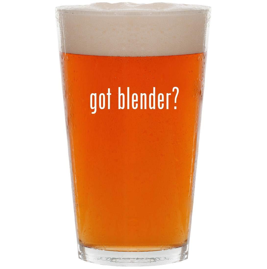 got blender? - 16oz Pint Beer Glass