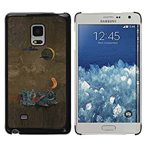 Shell-Star Arte & diseño plástico duro Fundas Cover Cubre Hard Case Cover para Samsung Galaxy Mega 5.8 / i9150 / i9152 ( Abstract Painting )