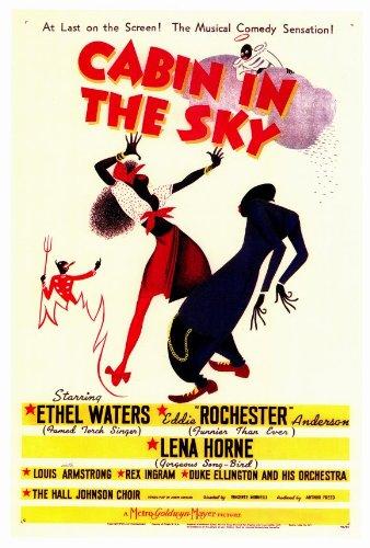 Cabin in the Sky Framed Poster Movie 27 - Cabin In The Sky Dvd