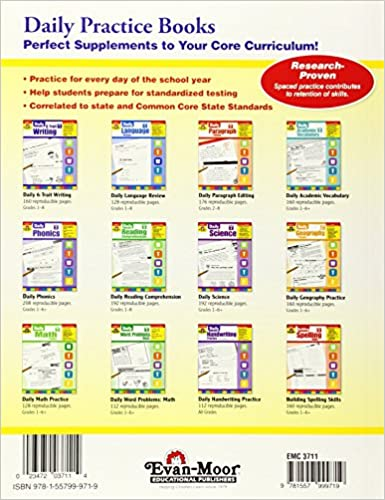 Workbook common core worksheets 4th grade math : Daily Geography Practice, Grade 2: Evan Moor: 0023472037114 ...