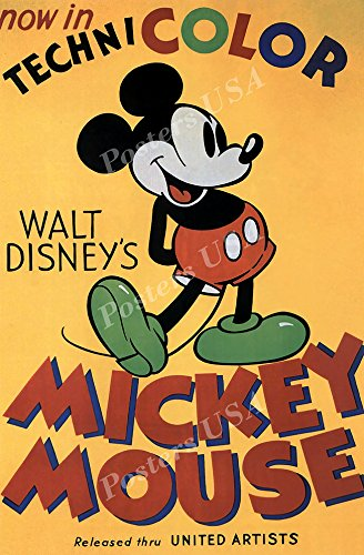 Posters USA Disney Classics Mickey Mouse Poster - DISN100 (24