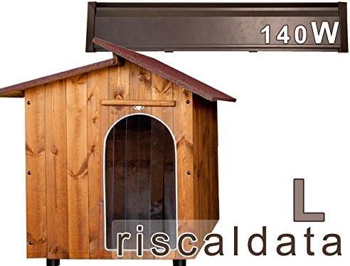 viverezen – Caseta riscaldata de madera con panel – Large (70 x 90 x 85 cm) – 140 W mis. int. 70 x 90 x 85
