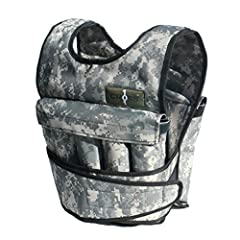 Camouflage Adjustable Weighted