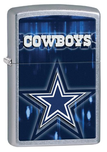 Personalized Dallas Cowboys Zippo Lighter - Free Engraving ()