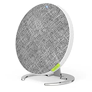 iClever Bluetooth Speakers with Rich Bass, 2×10 W Dual Driver, Built-in Mic, 12 Hours Playtime, 3 LED Mode, Stereo Wireless Speakers Decoration for Home