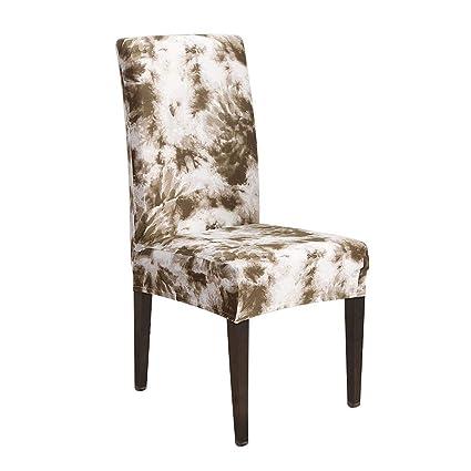 Miraculous Amazon Com Singa Z Stretch Chair Covers With Printed Creativecarmelina Interior Chair Design Creativecarmelinacom