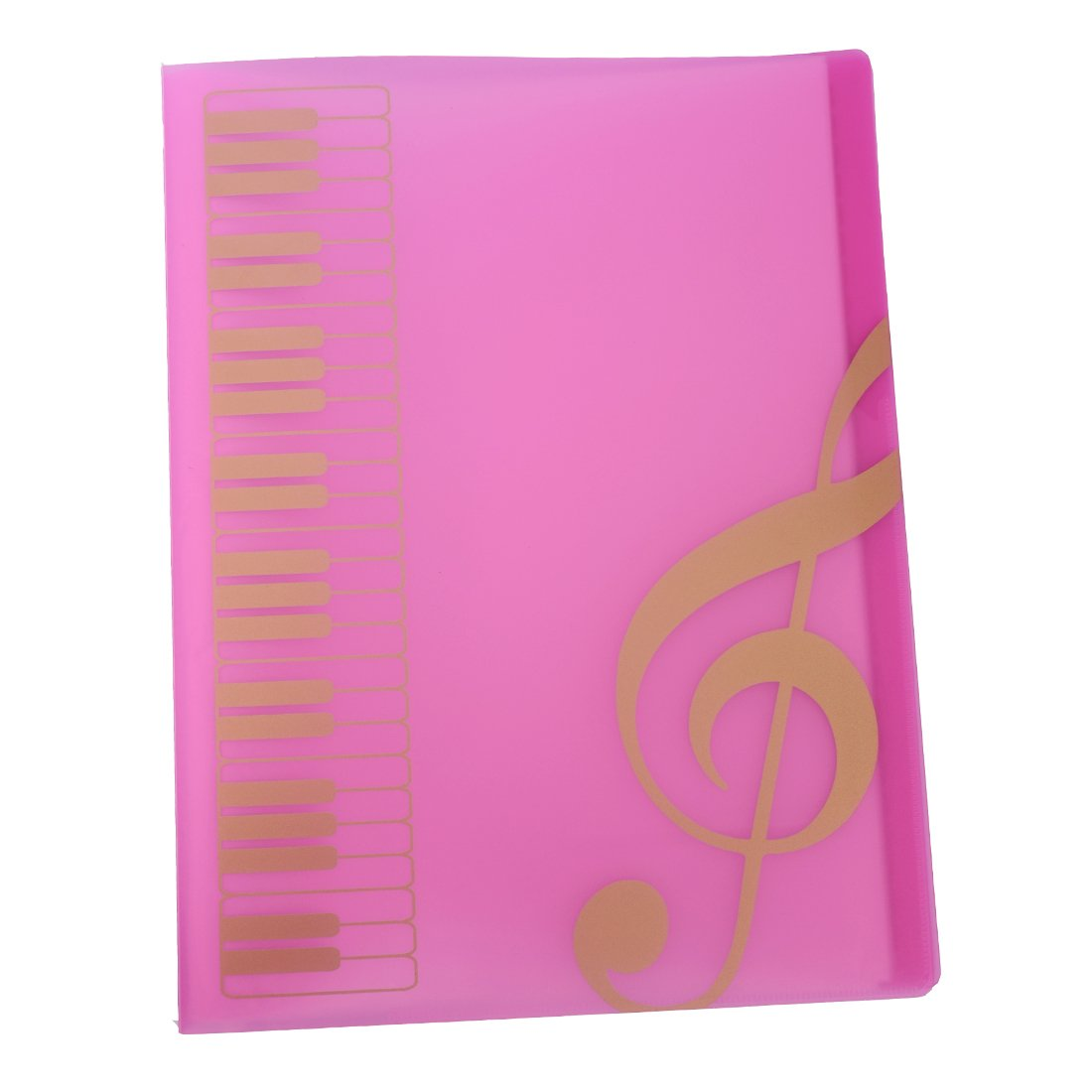 A4 Size,40 Pockets,Sheet Music Folder Files Documents Folder (Black) Rinastore MUS270844