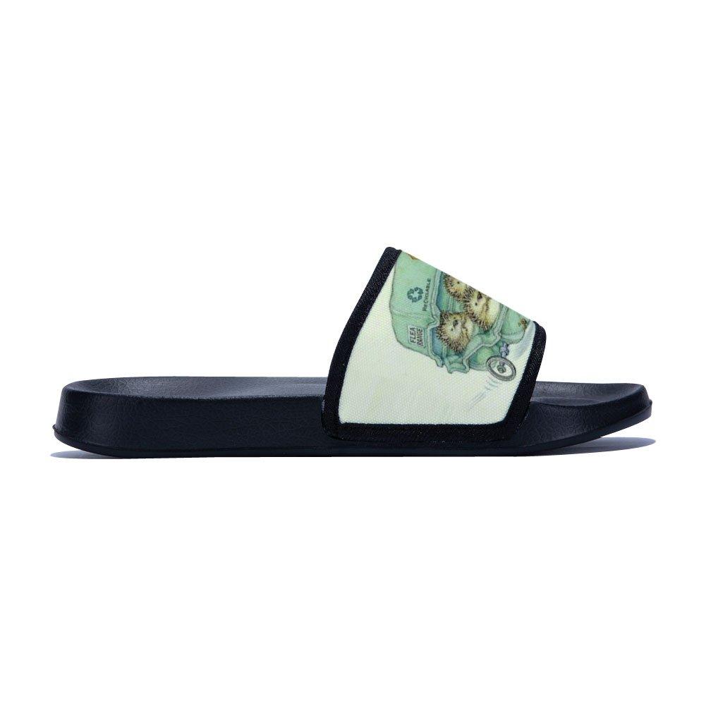 Ron Kite Sandals for Boys Girls Anti-Slip Bath Slippers Shower Shoes Indoor Floor Slipper Hedgehog