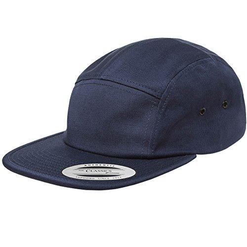 Navy Hat Classic Blue - Yupoong Flexfit 7005 Classic Jockey Cap (Navy)