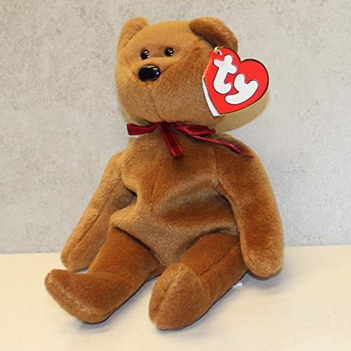 Ty Beanie Babies--Teddy New Face Bear ()
