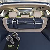 Trunk and Backseat car Organizer, Trunk Storage Organizer Will Provides You The Most Storage Space Possible, Use It As A Back Seat Storage Car Cargo Organizer and Free Your Trunk Floor