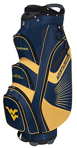 West Virginia Mountaineers Bag (Team Effort West Virginia Mountaineers The Bucket Ii Cooler Cart Bag)