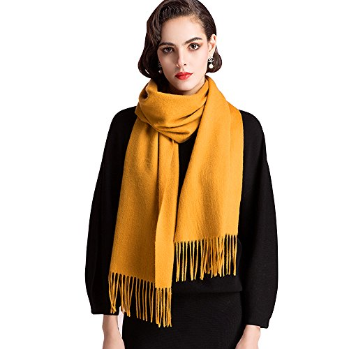 Cashmere Scarfs for Women and Men,Large Warm Soft Scarf Shawls Wrap - Scarf Wool