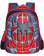 Spider Man Rugzak voor studenten, schooltas, kinderrugzak, instelbare kleuterschool, boektas, basisschool, jongens, meisjes, boek in rugzak