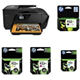 HP OfficeJet 7510 Wide Format All-in-One Photo Printer with XL Ik Bundle