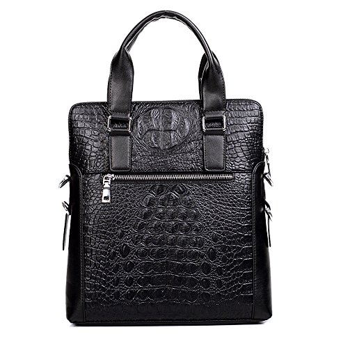Vertical Pattern Shoulder Bag in Casual Set Xiaoqin 2 Business Bags Suitable 1 Travel Men's For Crocodile wqPgWzf