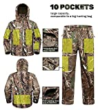 New View Quiet Hunting Clothes for Men, Camo