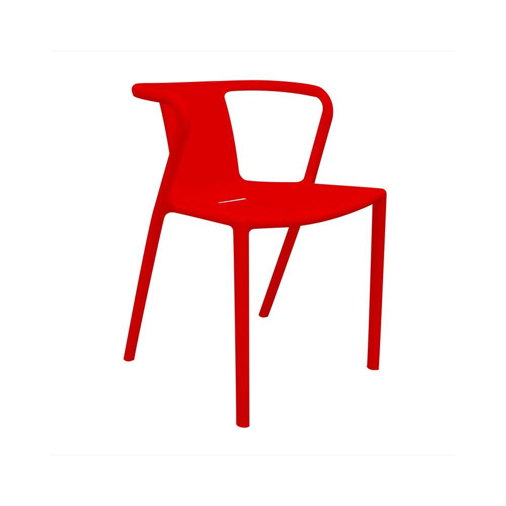 regalosMiguel - Silla de Diseño Indi Roja